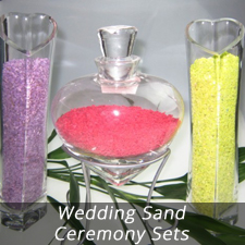 FOR THE FORTH CIRCLE, WEDDING SAND CEREMONY SET