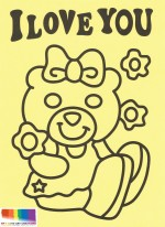 NPS04-Girl Bear with logo