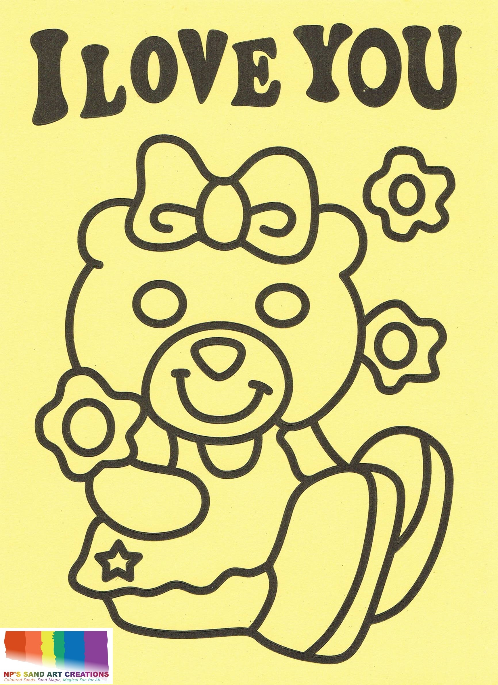 NPS04-Girl Bear with logo