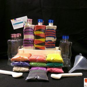 WAVY PLASTIC BOTTLES 10pack kit