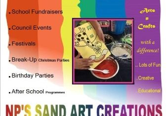 SAND ART WORKSHOPS